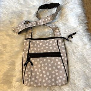 Thirty-One Lotsa Dots Organizing Crossbody Bag